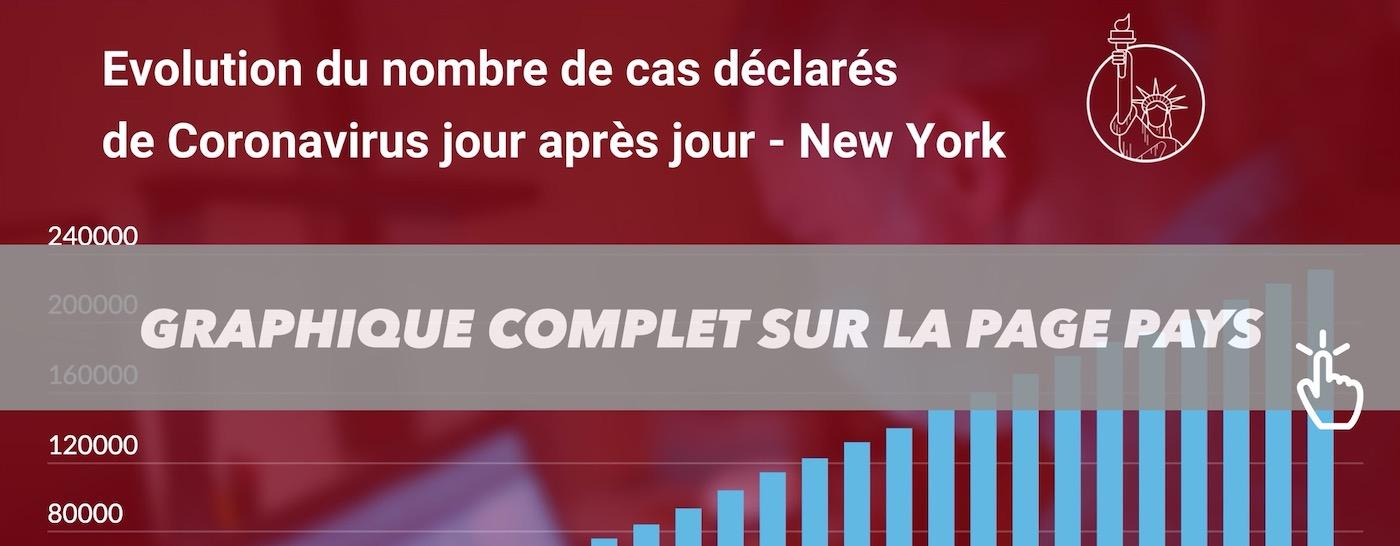 CORONAVIRUS STATISTIQUES TEASER NEW YORK
