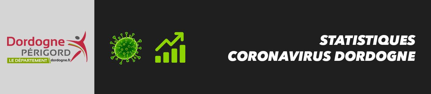 statistiques et nombre de cas coronavirus en dordogne