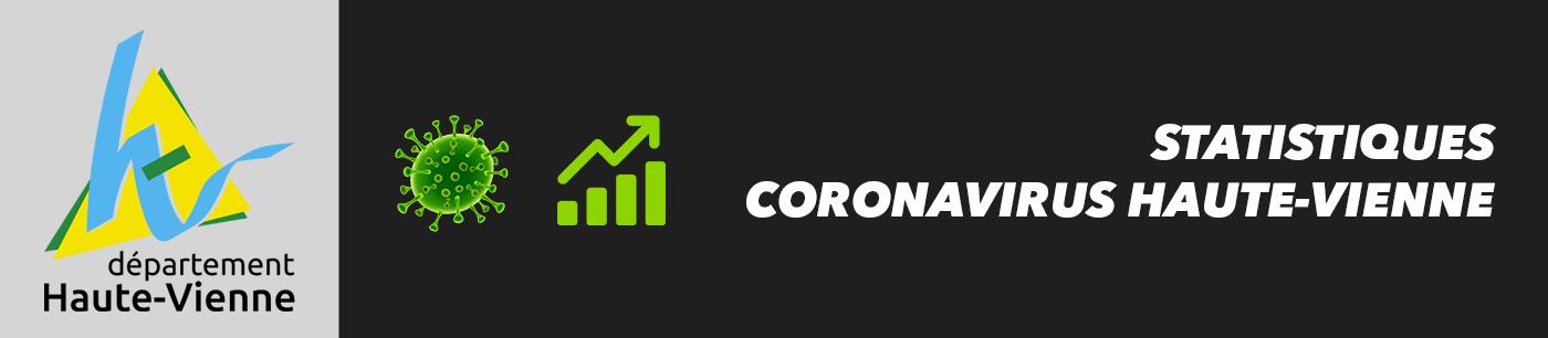 statistiques et nombre de cas coronavirus en haute-vienne
