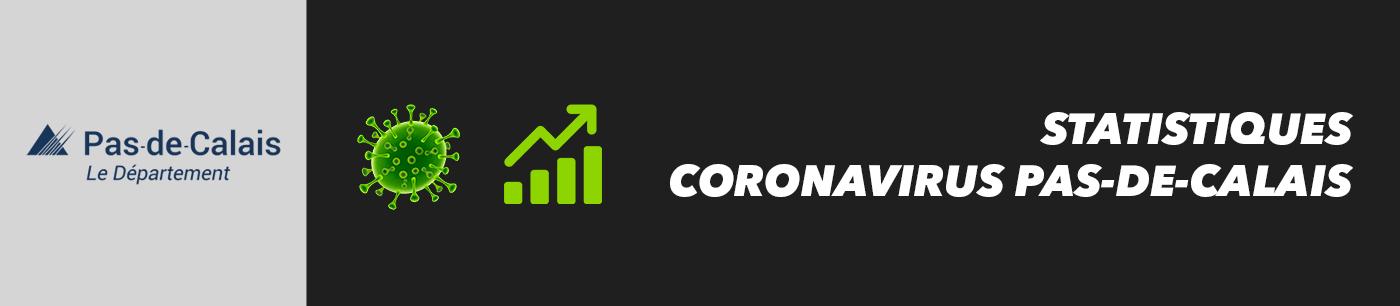 statistiques et nombre de cas coronavirus dans le pas-de-calais