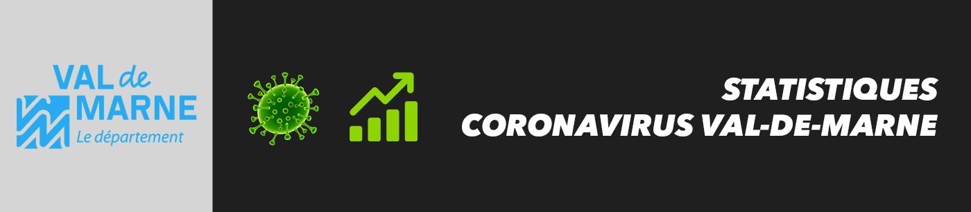 statistiques et nombre de cas coronavirus dans le val-de-marne